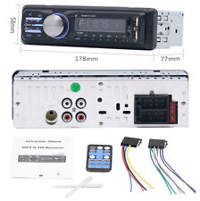 1 Din Car Stereo Double-USB SD MP3 Player FM Bluetooth Music Radio Audio In-dash