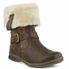 Spring Step Peeta Brown Suede Winter Boot Womens Size 40 / 9