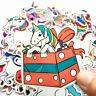 50 Sexy Einhorn Unicorn Stickerbomb Retrostickern Aufkleber Sticker Mix Decals x