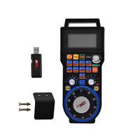 CNC Mach3 Handwheel 6 Axis Wireless USB MPG Controller Electronic Manual Pendant