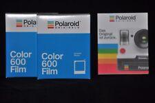 2 x Polaroid Originals a colori film impossible per for 600 e gli impulsi and cameras
