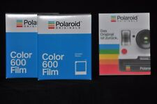 2 x Polaroid Originals couleur film impossible pour for 600 et and impulsions Cameras