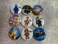 Party Bag Fillers X 15  LEGO MOVIE BADGES