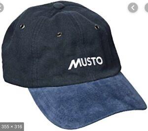 Musto Evolution Original Crew Cap Navy SRP £25 Offer Price £14.50