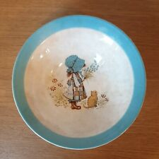More details for vintage 1978 holly hobbie bowl -barratts of staffordshire