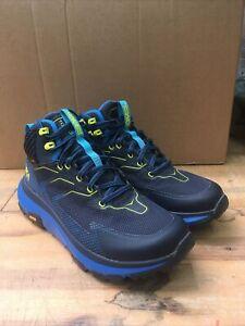 Hoka One One Mens Sky Toa Hiking Walking Boots - UK Size 9.5 Blue
