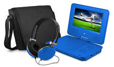"Ematic EPD707BU EPD707 Portable DVD Player - 7"" Display - 480 x 234 - Blue"