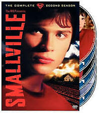 Smallville : The Complete Second Season (DVD, 6-DISC ) R-4, LIKE NEW, FREE POST