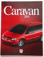DODGE Caravan 2001 dealer brochure catalog - French - Canada