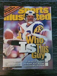 Sports Illustrated October 18 1999 Kurt Warner