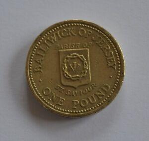 1984 Jersey Parish of ST Saviour £1 One Pound Coin