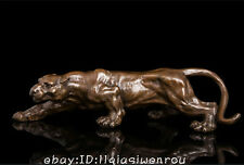 Art Deco Sculpture Jaguar Panther Animal Bronze Statue