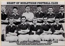 HEARTS FOOTBALL TEAM PHOTO>1957-58 SEASON