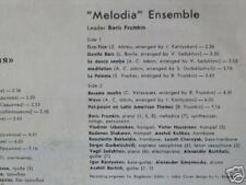 Melodiya Ensemble: Besame mucho  near mint