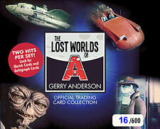 The Lost Worlds Of Gerry Anderson Trading Cards Sealed Hobby Box (/600)