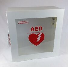 LIFESTART AED CABINET WITH ALARM SURFACE MOUNT 1463 JL INDUSTRIES FREE SHIPPING