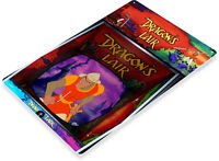 TIN SIGN Dragon's Lair Arcade Shop Game Room Marquee Console Décor B067