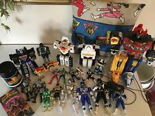 MMPR Lot of 20 VHS Tested Works Megazord Mighty Morphin Power Rangers Vintage