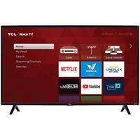 "TCL 40"" 1080p HD LED 3-Series Dual-Band Wi-Fi Roku Smart TV w/ 60Hz Refresh Rate"