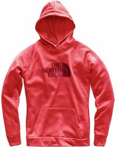 THE NORTH FACE Fave HALF DOME 2.0 Pullover HOODIE Hood SWEATSHIRT Women sz SMALL