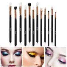 12Pcs Makeup Brushes Foundation Powder Eyeshadow Eyeliner Black New 2019