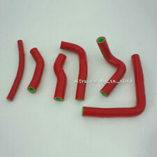 ZAP RED FOR HONDA CR 250 2000-2001 SILICONE RADIATOR COOLANT HOSES