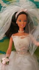 1976 Brown Hair Barbie Katti Doll Wedding Bride Barbie