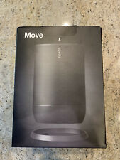 New Unopened - SONOS MOVE1JP1 BLK Sonos Move Smart Speaker BT/AirPlay2/Wi-Fi
