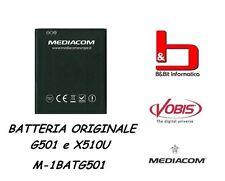 BATTERIA ORIGINALE PER MEDIACOM PHONEPAD DUO G501  M-1BATG501 COMP. ANCHE X510U
