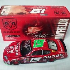 Jeremy Mayfield Autograph 2005 Dodge Dealers Charger #19 Action Diecast Nascar