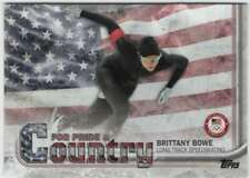 2018 US Winter Olympics For Pride and Country #PAC-BB Brittany Bowe