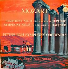 WILLIAM STEINBERG/PITTSBURGH SYMPHONY ORCH. symphony 35/41 LP CAPITOL RARE VG++