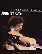 Johnny Cash - Live From Austin, Texas (DVD, 2005) Free Ship in Canada!