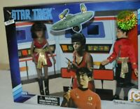 "MEGO MARTY ABRAMS STAR TREK UHURA AND SULU 2 -8 "" ACTION FIGURES"