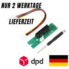 M.2 NGFF zu 1x/4x PCI-E Express Adapter Grafikkarte Soundkarte Mining Rig Riser