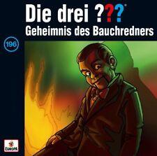 Die Drei Fragezeichen ??? Folge 196 Geheimnis Des Bauchredners CD NEU & OVP