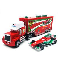 Disney Pixar Cars Francesco Bernoulli Hauler Truck 1:55 Diecast Model Loose Toys