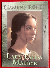 GAME OF THRONES - LADY TALISA MAEGYR - Season 3, Card #47 - Rittenhouse 2014
