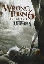 Wrong Turn 6 Last Resort - Unrated DVD 2014 Region 1 US IMPORT NTSC