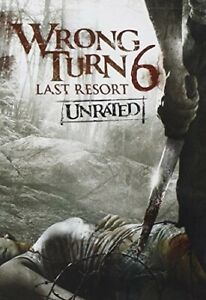 Wrong Turn 6: Last Resort [New DVD] Dolby, Digital Theater System, Wid