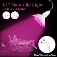 E27 LED Grow Light Dual Heads Clip on Flexible Extension Bulb Lamp Holder    8 1