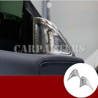 For Benz CLA C117 W117 Matte Car Door Audio Speaker Cover Trim 2pcs 2013-2019