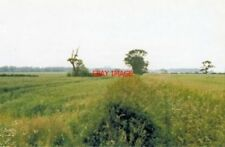 PHOTO  COTTINGWITH RAILWAY STATION SITE YORKSHIRE 1988 DERWENT VALLEY LIGHT RLY.