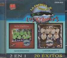 Los Kramer's 20 Exitos La Energia Musical 2 en 1 CD