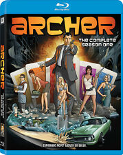 Archer: Season 1 (2011, Blu-ray NEW) BLU-RAY/WS