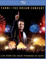 YANNI: THE DREAM CONCERT - LIVE FROM THE GREAT PYRAMIDS OF EGYPT USED - VERY GOO