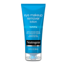 Neutrogena Hydrating Eye Makeup Remover Lotion, Gentle Daily Makeup Remover with