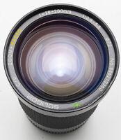 Soligor C/D Zoom + Macro MC 28-200mm 28-200 mm 1:3.8-5.5 - Canon FD