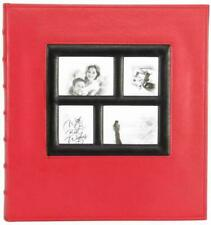 Benjia Photo Albums Self Adhesive Pages, Extra Large Leather Vintage Photo Album