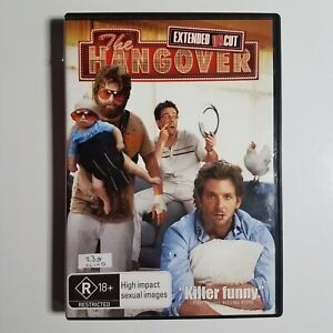 The Hangover (Extended Cut) | DVD Movie | Bradley Cooper, Zach Galifianakis